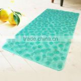 Beautiful anti slip best curved bath mat