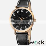 relogio masculino Men watch 2014 Leather Watch Man Automatic Watch Stainless steel back water resistant