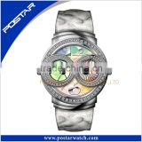 Unique Design Limited Edition Dial Multicolor Wrist Watch