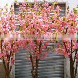 the cheap artificial flower branches fabric flowers artificial cherry blossom trees/fake mini blossom trees