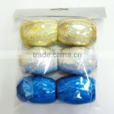 Fashional Holographic RIBBON egg, Ribbon bow rolls for wrapping gift/present and decorative party