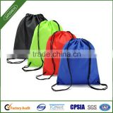 promotional gym sack drawstring bag