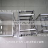 High quality and Fashionable wire basket for biological clean room for industrial use , glass Industrial cleaning basket