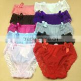 0.57USD High Quality 5 Colors Softy Transparent Fashional Sexy Youh Ladies Panties/Thongs (lppgdnk028)