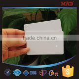MDC16 environmental Customized size inkjet hermal printing 125khz blank plastic LF id card with TK4100 T55TT EM4100 chips