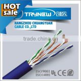Good quality sftp flat 4p cat5 305m cable cat5e utp cable network cable in telecommunication