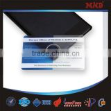 MTT20 Blank transparent business cards