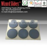 PTFE +rubber pad/easy move large size furniture/leg sliders/easy glide/self adhesive glides