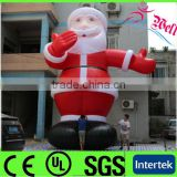 2014 New outdoor inflatable christmas decoration/ inflatable Santa Claus/ inflatable christmas decors