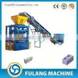 QTF4-24 High cost-effective manual solid block machine price/stone dust brick making machine