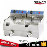 chicken machine used henny stainless steel penny deep fryer chicken frying food electric machine with 2 tanks EF-132V