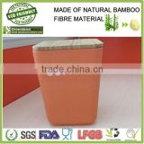 Eco-friendly bamboo fiber seasoning bottle with lid, L11*W11*H15cm                                                                                                         Supplier's Choice