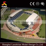 nice landscape architectural model maker for gym building