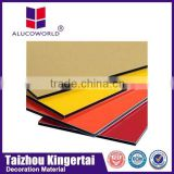 Alucoworld Good Fame ACP Panels Professional ACM Material plastic interior wall decorative panel lowes