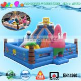 spongebob children cheap small used jumping castles for sale