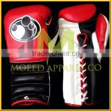 new products 2015 PU leather custom logo grant boxing gloves/ High Quality Kick Boxing Gloves Custom Boxing