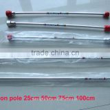 "adjustable aluminum extension pole extendable rod 6"" 12"" 10"" 24"" 30"" for high pressure Airless Paint Sprayer machine"