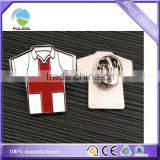 metal pin badge clothes T-shirt shaped soft enamel paint
