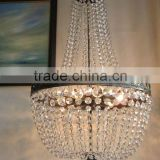 Large French K9 Crystal Chandelier/ Lustre Classic Empire Purse Lamp Light ST5660                                                                         Quality Choice