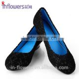 Alibaba China supplier 2015 women flat shoes,ladies elegant flat shoes,lace material flat shoes