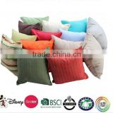 outdoor cushions and pillows /made in china top selling 100% linen Car Sofa Back Car Cushion