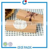 wholesale new arrival 350gsm kraft paper custom cake dessert packing box                                                                                                         Supplier's Choice