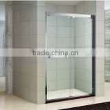 Double Sliding Tempered Glass with en12150-1 SS Pulley16mm Luxurious Shower Door(KD5211A)