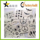2015 body jewel metallic temporary henna sticker tattoo stencils