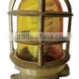 Yellow bulkhead deck marine outdoor brass Waterproof led pendant light