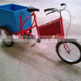 3 wheels electric / pedal cargo bike with high quality for sale
