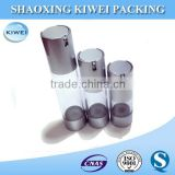 Silver cosmetics packaging high quality