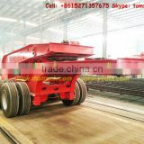 Dropdeck60-200t Hyraulic Lifting Low Bed/ Lowboy Dolly Semi Trailer removable gooseneck, factory cell Tom:86-15271357675