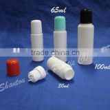 30cc plastic jar with screw lid for powder with print, plastic hdpe powder containers, talcum powder bottle