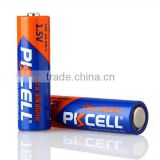 high quality Top sale 1.5v AA lr6 am3 Super Ultra alkaline battery from PKCELL
