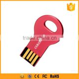 mini metal u disk usb flash drive key shape with custom logo                                                                                                         Supplier's Choice