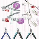 Cuticle Nail Nippers with pusher, professional use Manicure Pedicure Tools & Kits Pakistan