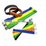 Waterproof Flexible Silicone Wristband USB Drive
