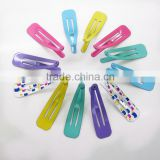Fashion design alloy hair clips girls colorful hair grips bobby pins