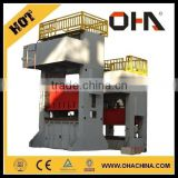 "INTL "" OHA "" Brand H Frame Deep Drawing Hydraulic Press 850T with fixed working table"