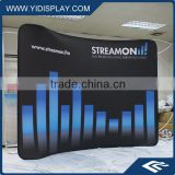 Trade Show 9 Panel Fabric 3D Pop Up Display Frame