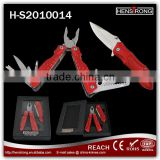 two piece multi pliers and knife brand new professional Promotion Christmas tools gift sets