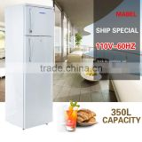 Refrigerators 110v/220v frost-free 350 large capacity energy saving refrigerators household high usage double door refrigerator