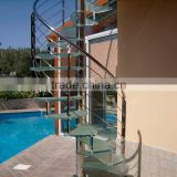 modern design stainless steel baluster handrail for stairs 304 construction / Stainless Steel Railing