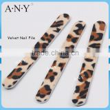 Professional Nail Art Cure Emery Board Velvet Nail Files for Manicure