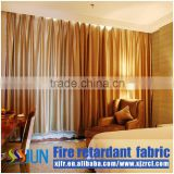 Traditional luxury jacquard blackout fabric for curtain of top hotels from China curtain wholesale flame retardant fabric