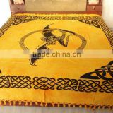 RTT-2 Indian Wall Decor Tapestry sanganeri screen printed wall hanging Celtic Jaipur manufacturer