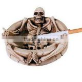 hot selling plated brass metal ashtray