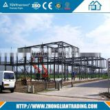construction design two story prefabricated steel structure warehouse                                                                                                         Supplier's Choice