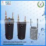 strong anti-corrision stainless steel air cooled heat exchanger for swimming pool heat pump