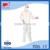Disposable coverall protective fire fighting paint dust gardening clothing                                                                         Quality Choice